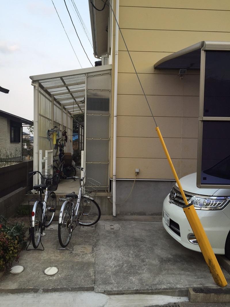 ... 自転車通学をするので自転車